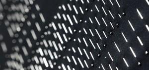 Tűkörkép, 94x94, textil, gombostű